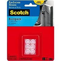 Scotch SP943 Bumpers, Clear, 1.2cm, 18 Pack