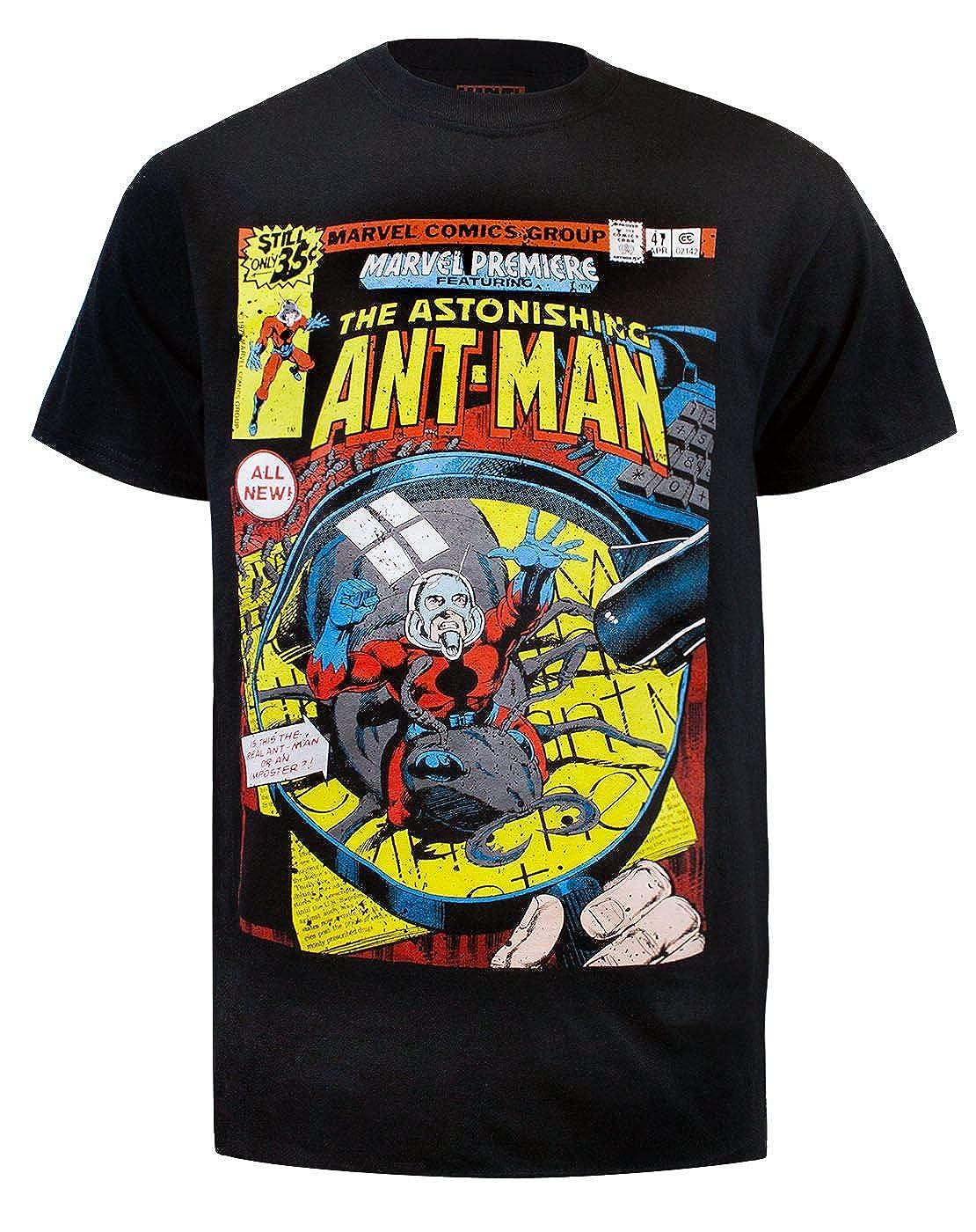 Ant-Man Marvel Comic Men's T-Shirt Poetic Brands