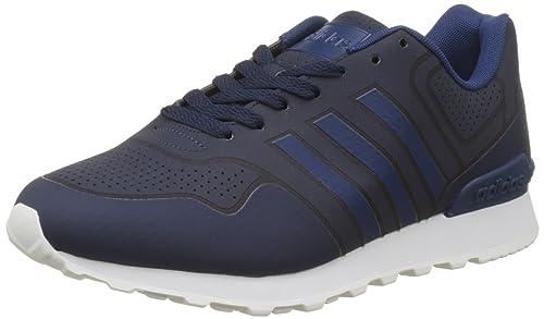 Adidas 10K Casual, Zapatillas de Gimnasia para Hombre, Azul (Collegiate Navy/Crystal White/Mystery Blue), 46 2/3 EU