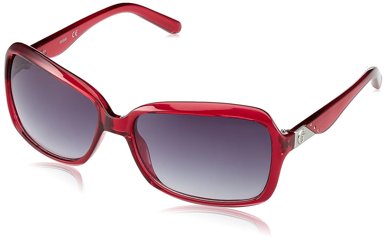 TALLA 57. Guess Gu226Ro, Gafas de Sol para Mujer