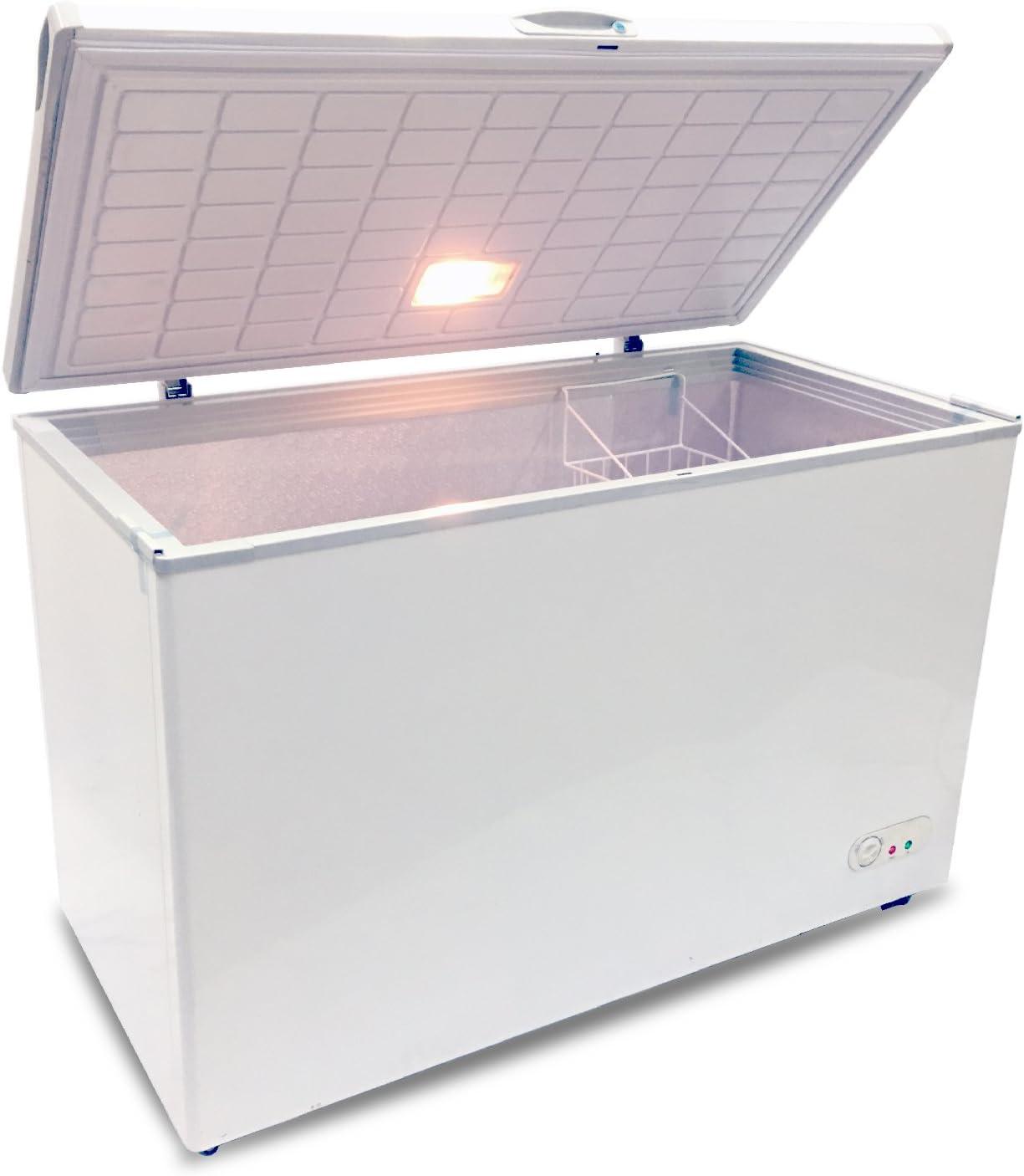 GE FCM7SHWW 7.0 Cu White Chest Freezer Ft