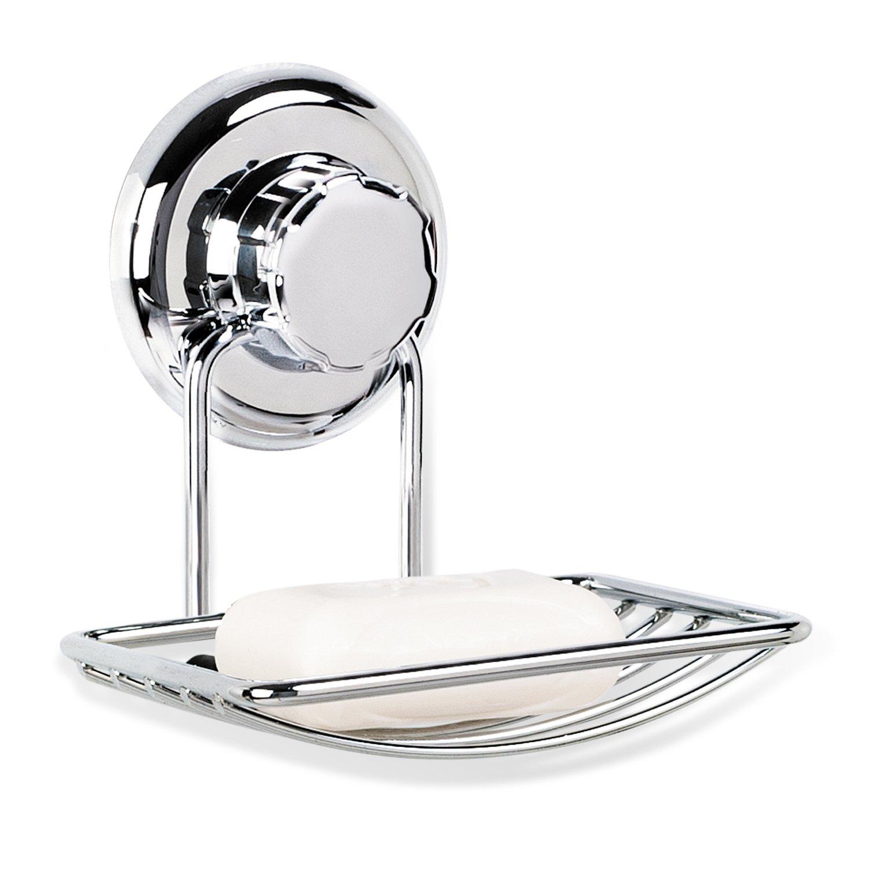 Tatkraft MegaLock Trio Set di accessori da bagno, con portarotolo ...