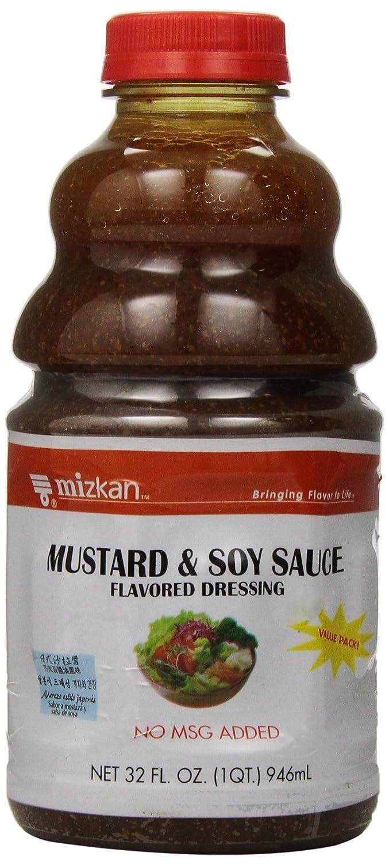 Mizkan Mustard Dressing, 32 Ounce