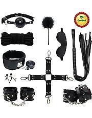 PALOQUETH Bondage Set Perfekt für Anfänger BDSM Fesselset Sexspielzeug 10 Stück Für Pärchen