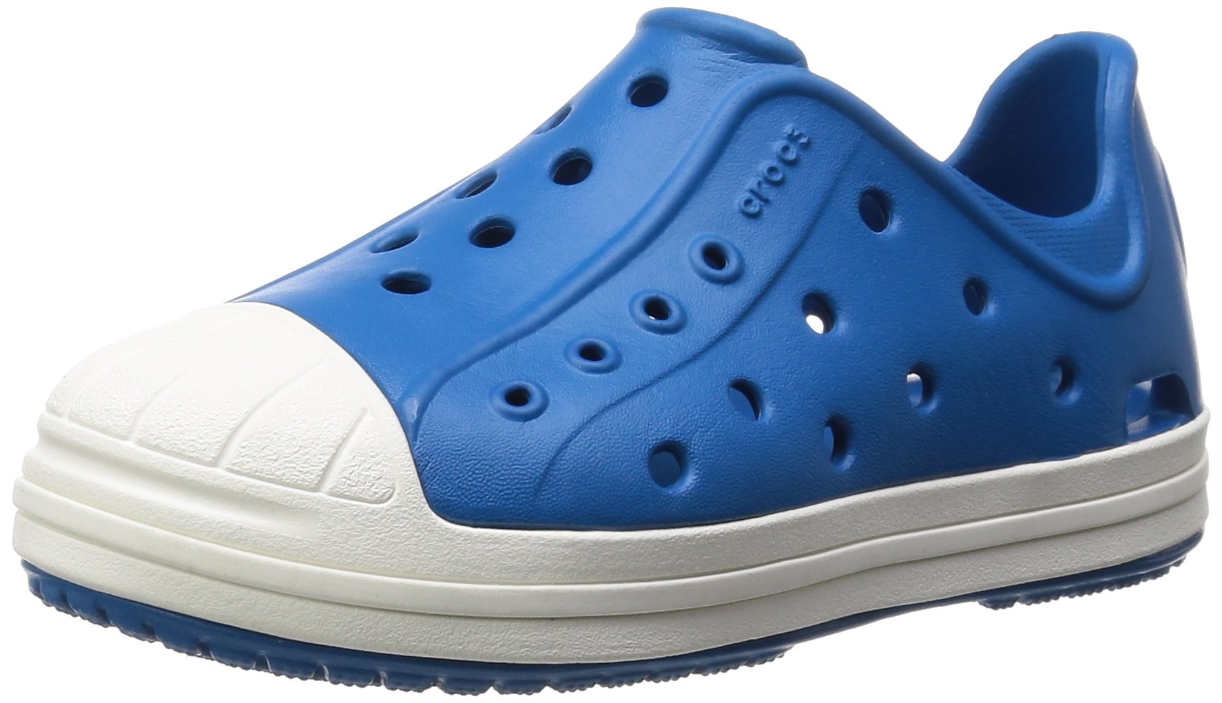 Crocs Bump It K Shoe (Toddler/Little Kid), Ultra Marine/Oyster, 9 M US Toddler by Crocs