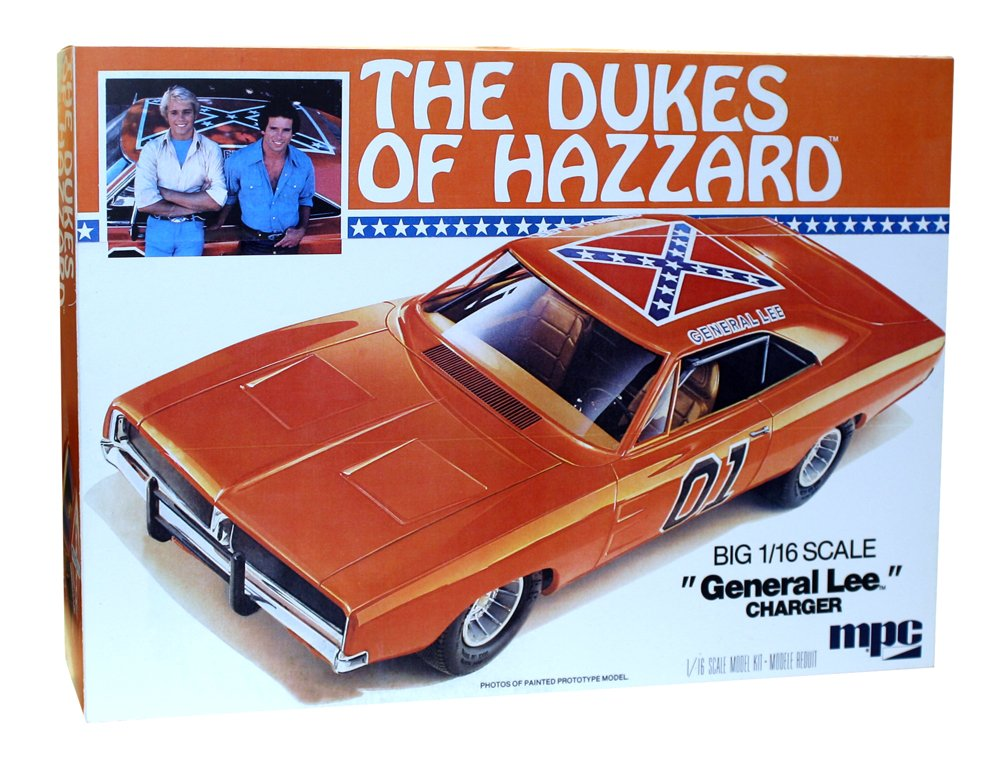 amazon com round 2 mpc dukes of hazzard general lee 1969 charger 1