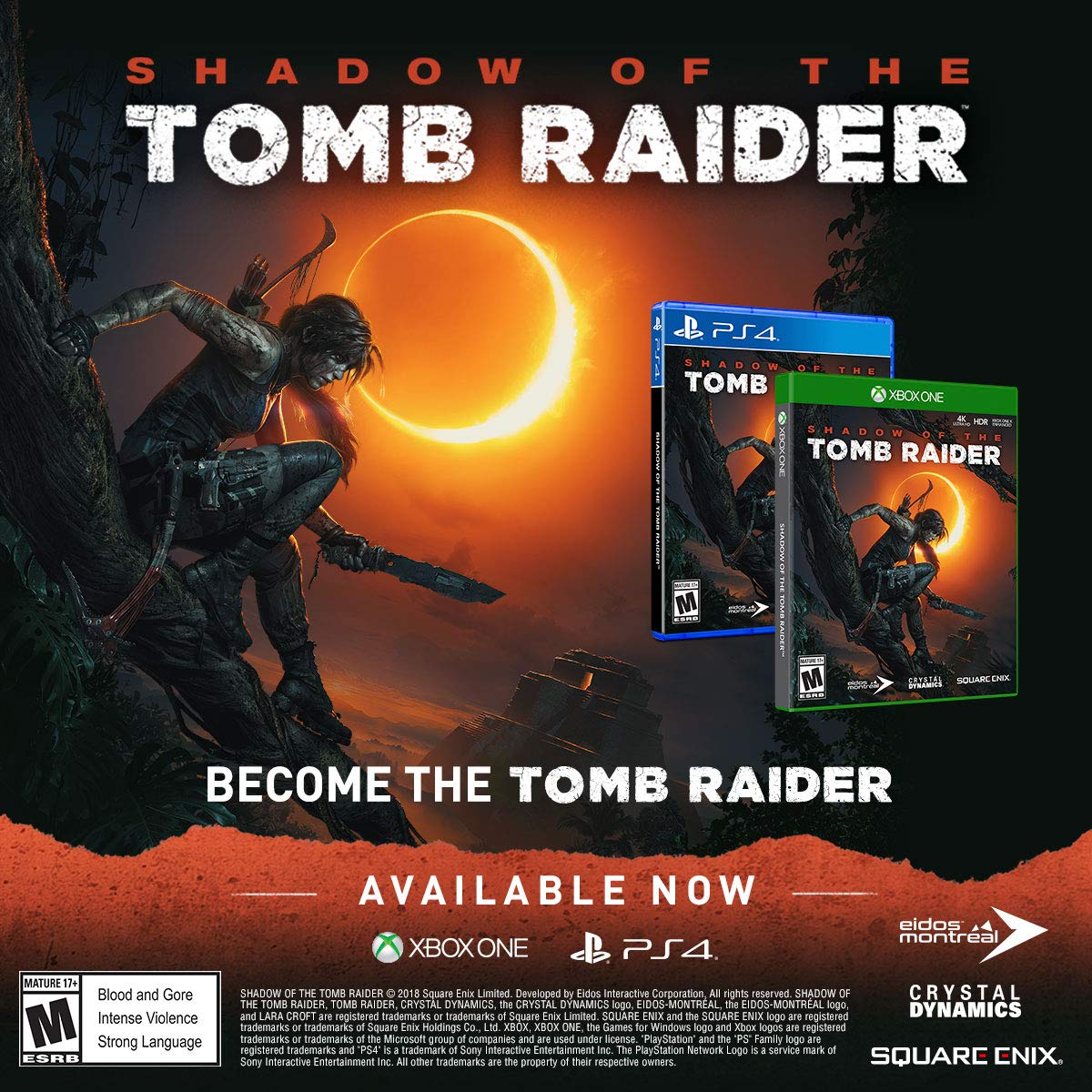 Shadow of the Tomb Raider for Xbox One [USA]: Amazon.es: Square ...