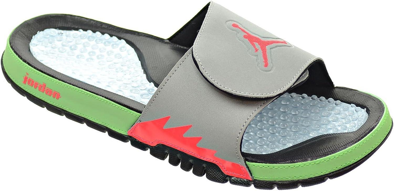 Blanco//Rojo Fuego//Gris Cemento//Negro Jordan Nike 532225-116 Hydro IV Retro para Hombre
