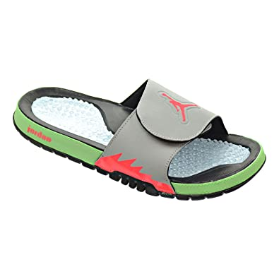 71846fe2df0d7d Jordan Hydro V Retro Men s Sandals Black Infrared 23 Light Poison 555501-023