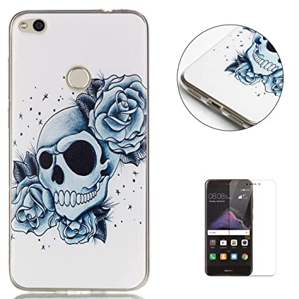 KaseHom Compatible For Huawei P8 Lite 2017 Funda de Silicona ...