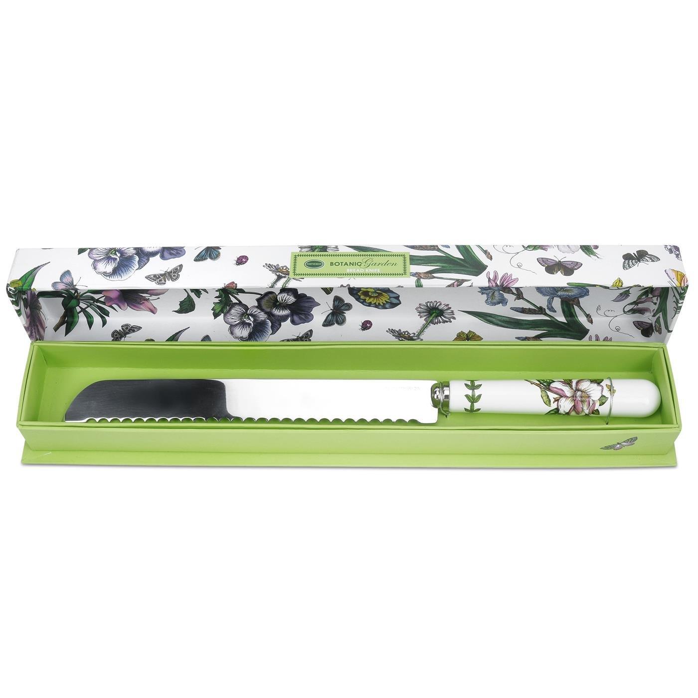 Botanic Garden Bread Knife, Porcelain, Multi-Colour, 2.5 x 34.5 x 1.5 cm Portmeirion 492578 LY-7TFF-X2R6