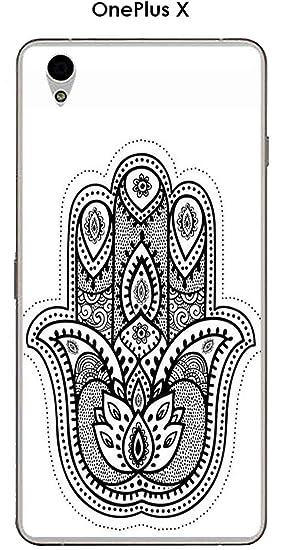 Carcasa OnePlus X Design Mandala mano: Amazon.es: Electrónica