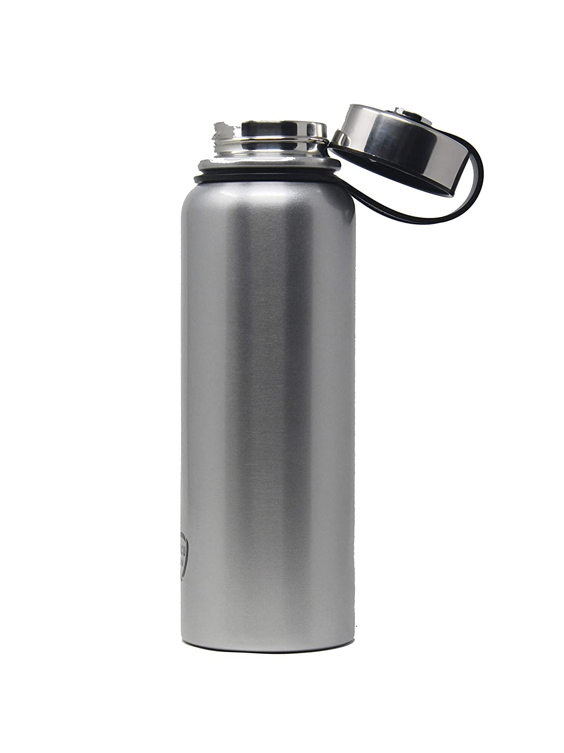 Wide Mouth|Leak-Proof Sweat Proof Sport Design Thermos,42Oz ELINA HOME Double Wall Vacuum Insulated Stainless Steel Gym Water Bottle Reusable Travel Coffee Mug