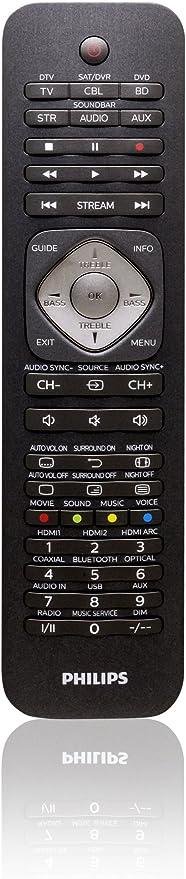 Philips SRP5016/10 - Mando a Distancia para televisores, Color ...