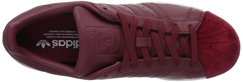 adidas Women's Originals Superstar B06XPLXT6N Burgundy/White 6 B(M) US Collegiate Burgundy/Collegiate Burgundy/White B06XPLXT6N 1233e0