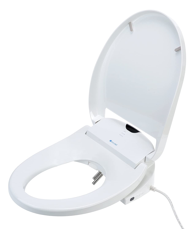 Brondell S900-RW Swash 900 Advanced Bidet Round Toilet Seat, White ...