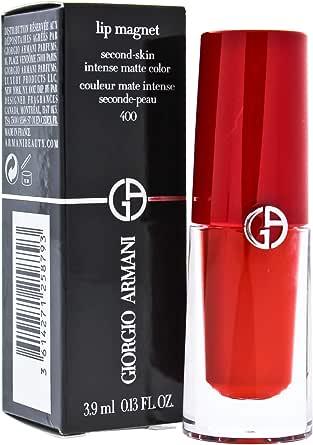 Giorgio Armani Giorgio Armani Lip Magnet Second-Skin Intense Matte - # 400 Four Hundred For All for Women 0.13 oz Lipstick, 3.9 ml