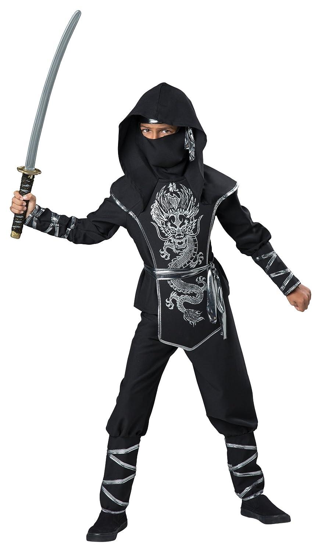 Amazon.com: Dragon Ninja Child Costume - Small: Clothing