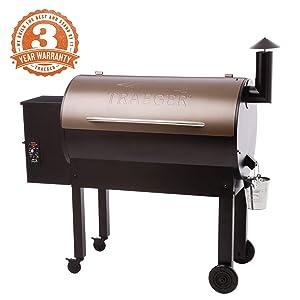Traeger Grills TFB65LZBC Texas Elite 34 Wood Pellet Grill & Smoker