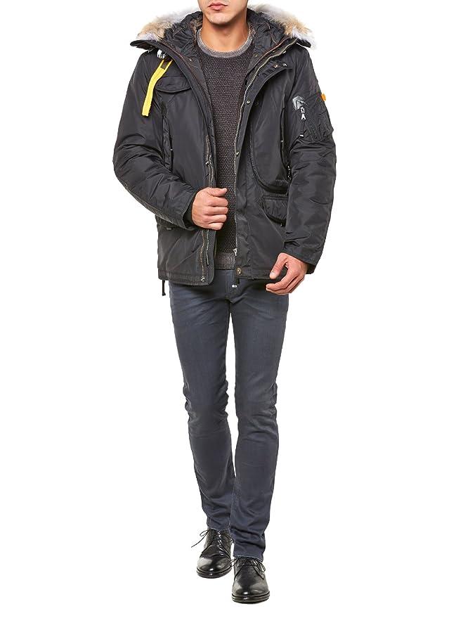 Parajumpers - - Homme - Parka Right Hand Fourrure et Doublure Amovible Noir pour Homme - XXL: Amazon.fr: Vêtements et accessoires