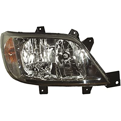 HELLA 247005021 Dodge Sprinter Passenger Side Headlight Assembly: Automotive