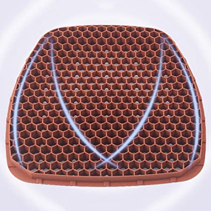 Amazon com: XKS Car Seat - Silicone Honeycomb Breathable Massage