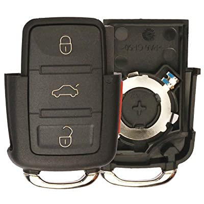 KeylessOption Keyless Entry Remote Key Fob Shell Case: Automotive