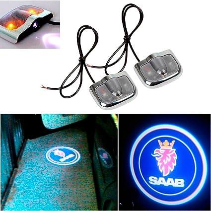 Amazon Champled For Saab Laser Projector Logo Illuminated