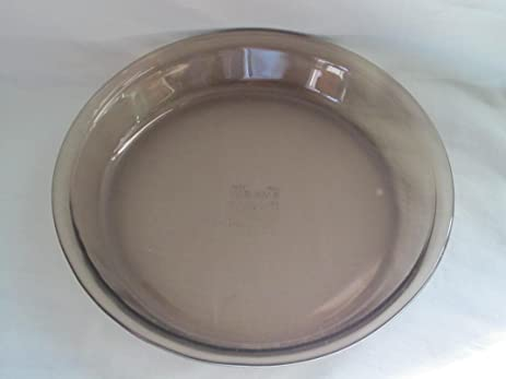 Vintage Corning Pyrex Amber 9 Inch Glass Pie Pan : 9 inch pyrex pie plate - pezcame.com