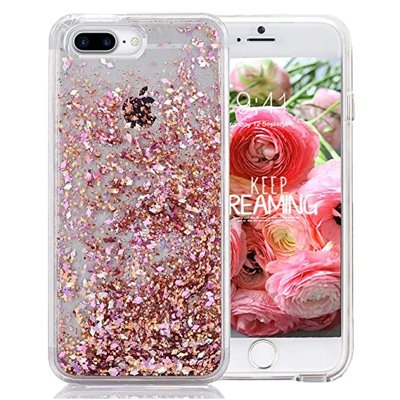 Amazon.com  iPhone 7 Plus Glitter Case 6425e264da2d