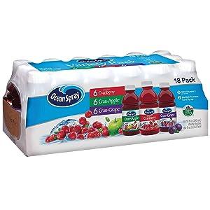 Ocean Spray Juice Drink Variety Pack (10 oz, 18 pk.) (Pack of 2) M
