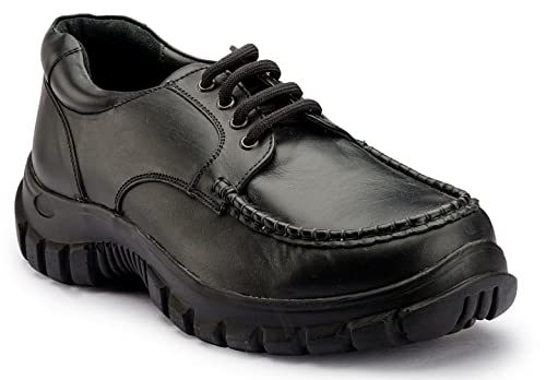 e88a9f3505e0 DE SCALZO Soft Leather Moccasin Orthopedic and Diabetic Footwear for Men  Black  Buy Online at Low Prices in India - Amazon.in