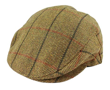 e26d949c9caa0 Image Unavailable. Image not available for. Colour  John Hanly   Co. Irish  Tweed Flat Cap ...