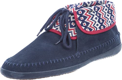 b861c70838 Vans Womens Mohikan Nordic Moccasin Slippers Navy US 9  Buy Online at Low  Prices in India - Amazon.in