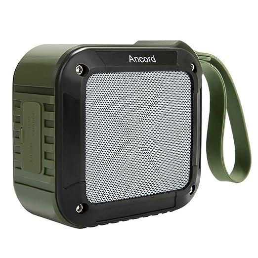 16 opinioni per Ancord Portatile Outdoor Speaker Bluetooth con Radio FM di Sintonia Analogica