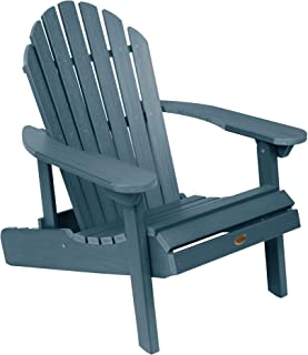 product image for Highwood AD-CHL1-NBE Hamilton Folding and Reclining Adirondack Chair, Adult Size, Nantucket Blue