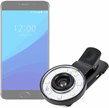 DURAGADGET Flash Selfie para Smartphone UMIDIGI C Note: Amazon.es ...