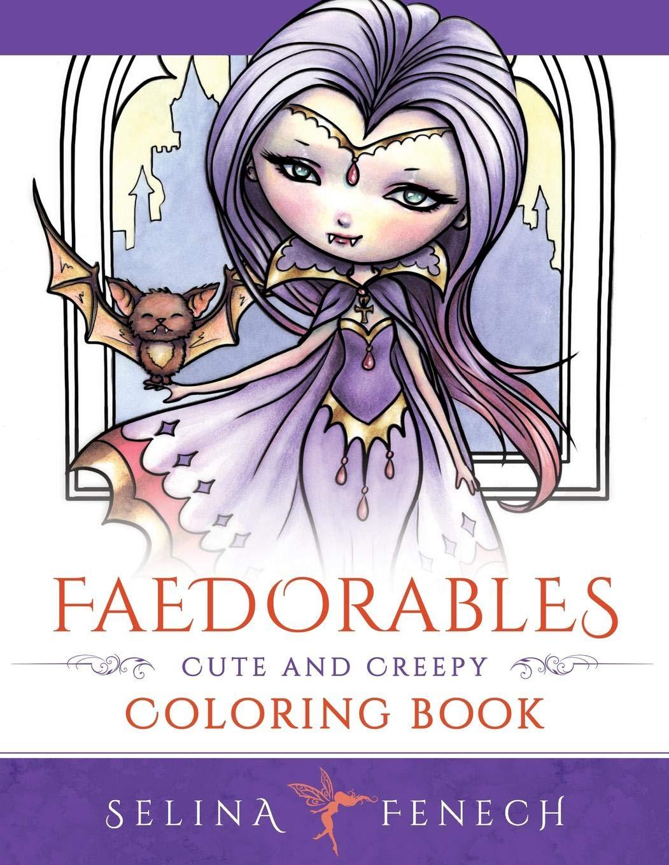 Faedorables Creepy Coloring Fantasy Selina product image