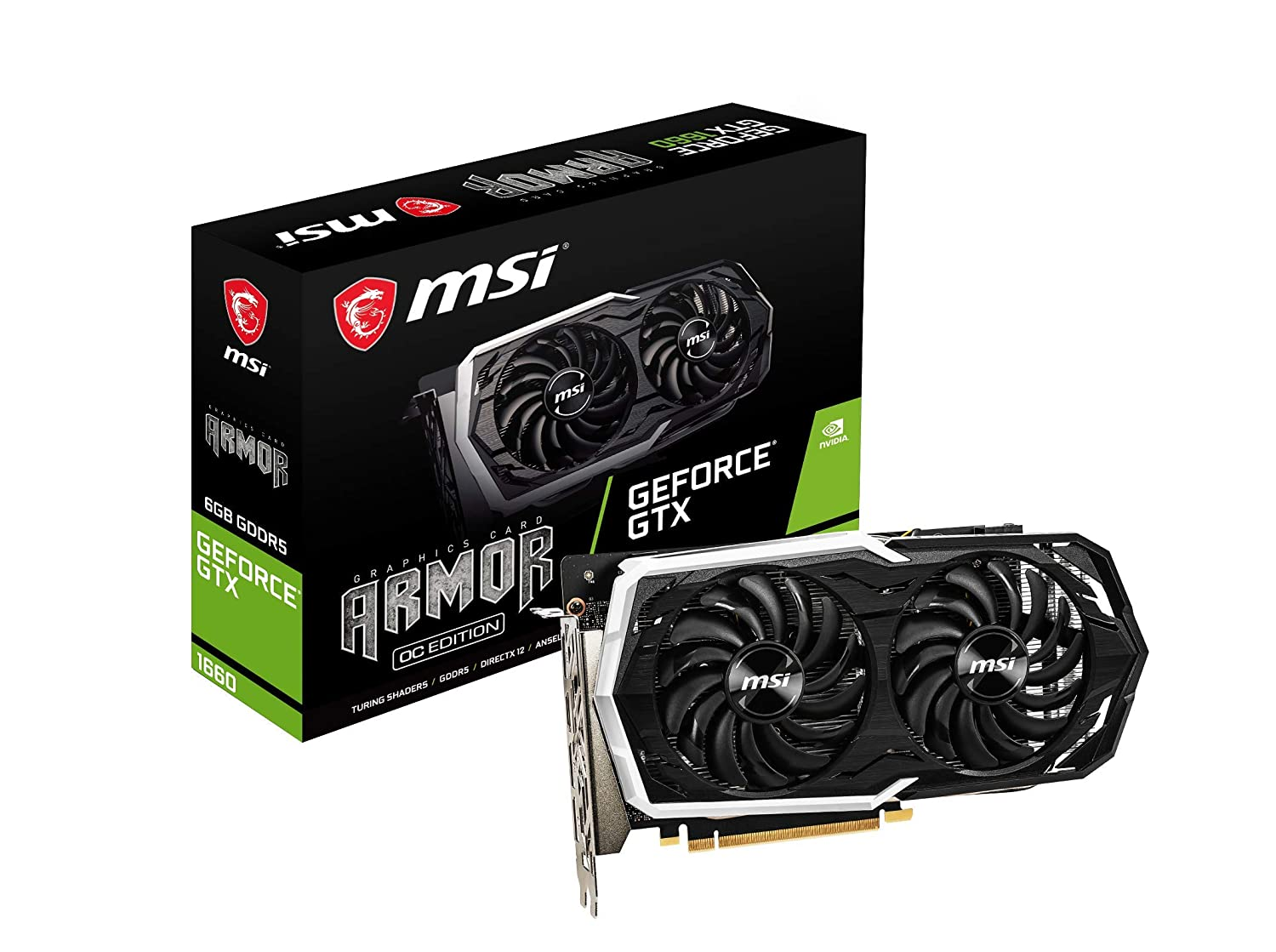 MSI ARMOR GeForce GTX 1660
