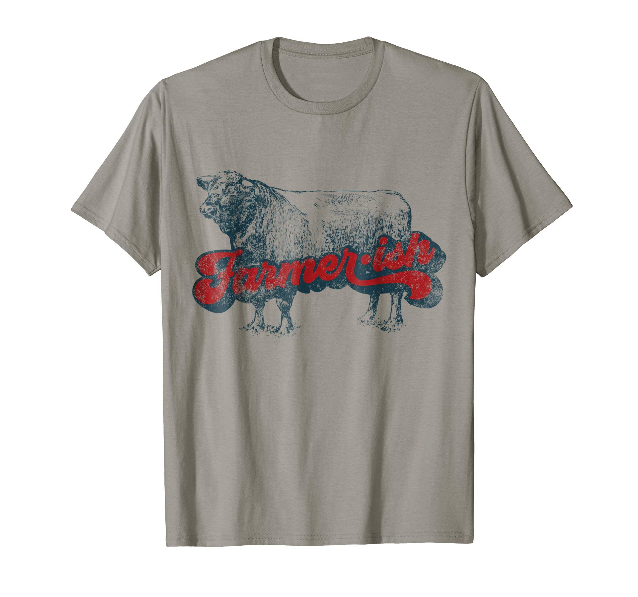 Farmer-ish T-shirt for Dairy Farmers and Cow Lovers