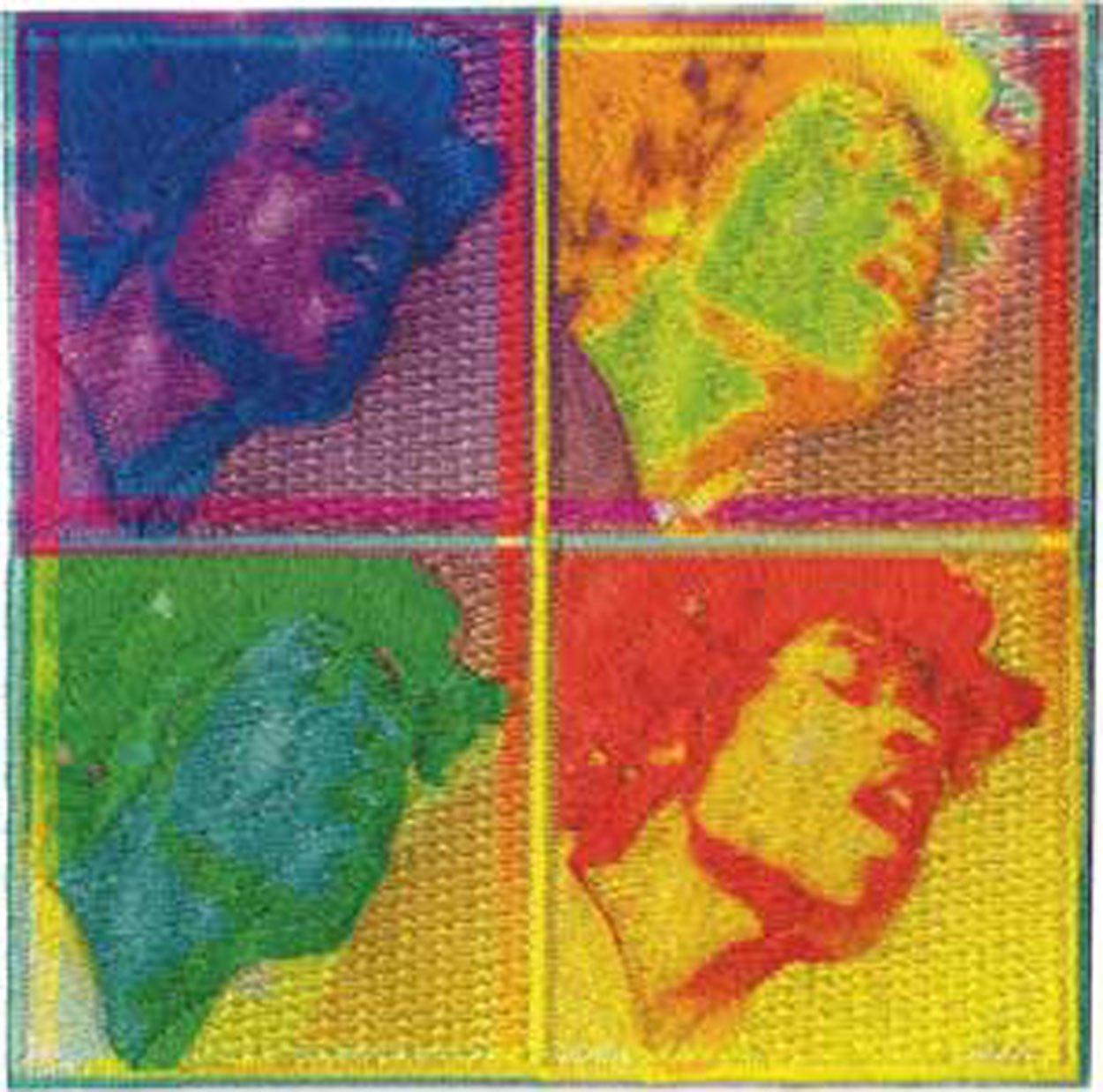 C&D Visionary P-3948 Jimi Hendrix 4 EL Patch C&D Visionary Inc.