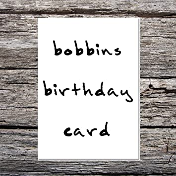 Funny AF Cards Cute Birthday Him Her Bad Handwriting Bobbins Card Greetings Amazoncouk Office Products