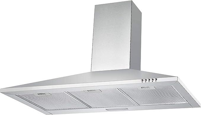 cookology ch100ss extractor | 100 cm sin marca de acero inoxidable chimenea Kit de ventilación y campana para fuera de ventilación: Amazon.es: Grandes electrodomésticos