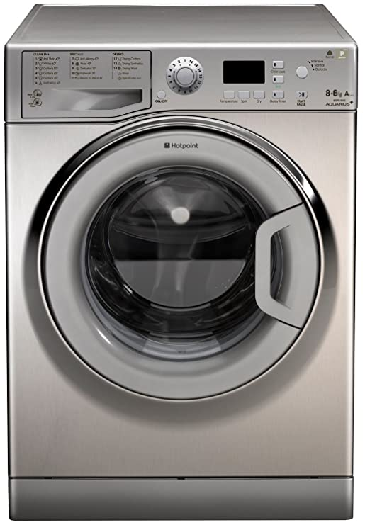 Hotpoint WDPG 8640X Independiente Carga frontal A Acero inoxidable ...
