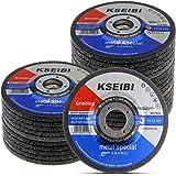 Kseibi 651006 Metal Grinding Wheel 4-1/2 Inch Aluminum Stainless Steel INOX Grind Disc Abrasive Depressed Center Grinder…