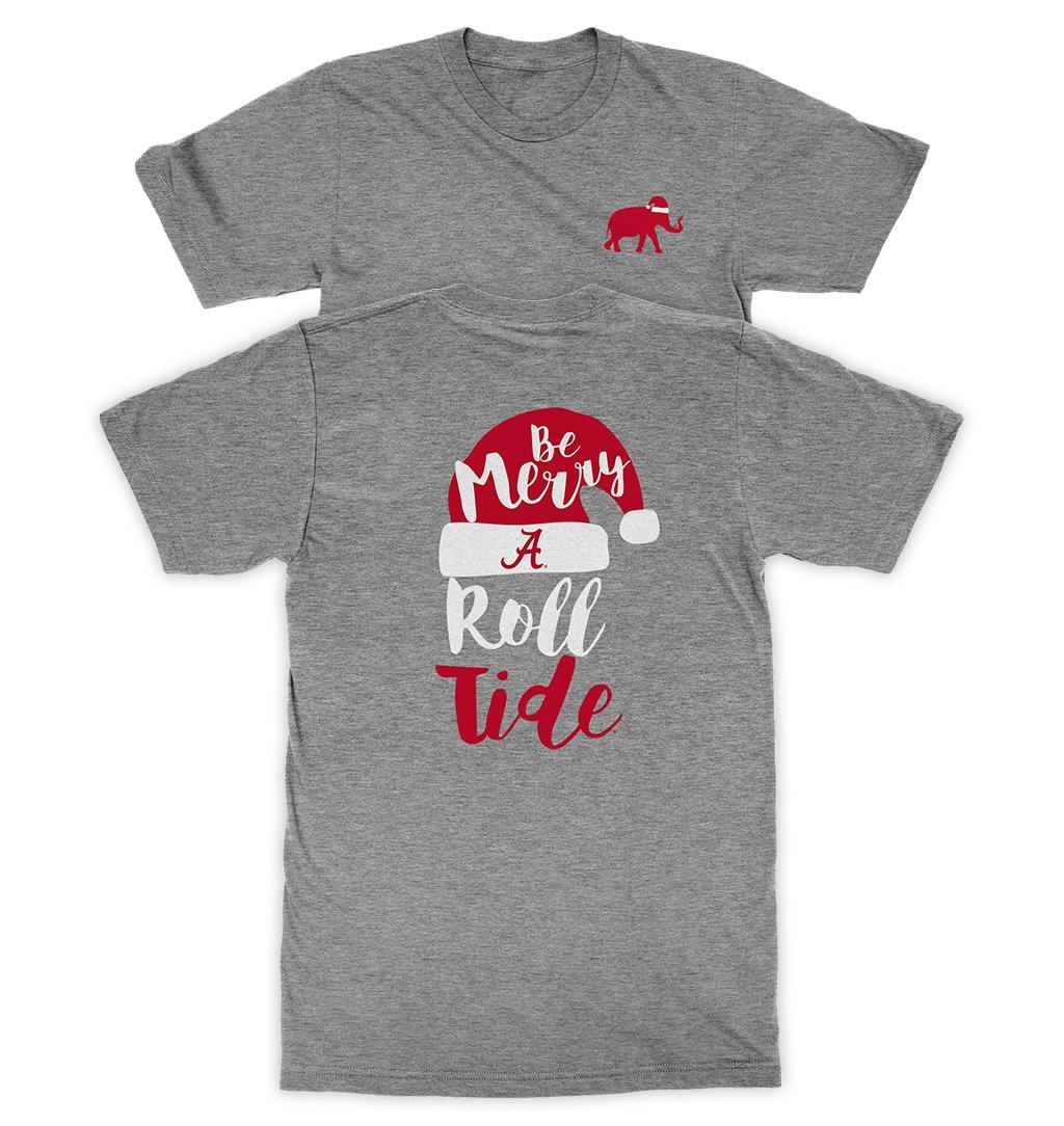 大注目 Be Merry and Roll Tideアラバマ大学のクリスマスTシャツ Roll – Be Athletic Heather and 4L B01MXMB4DW, フラワーギフト ブーケブランシェ:3afb92fa --- a0267596.xsph.ru