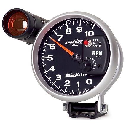 Amazon Com Auto Meter 3699 Sport Comp Ii 5 10000 Rpm Shift Lite