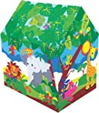 Kirat Colorfull Safari Play Tent House for Kids By Krasa