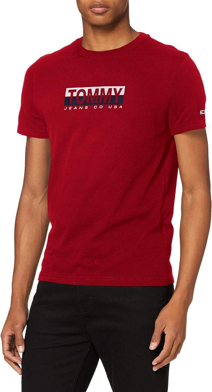 Tommy Hilfiger TJM Tommy Contrast Box tee Camisa para Hombre