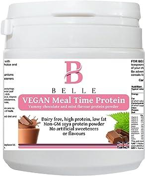 Belle® Vegan Meal time Polvo de proteína de soja - Chocolate ...
